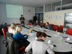 Training course in Mann Hummel company, 2013